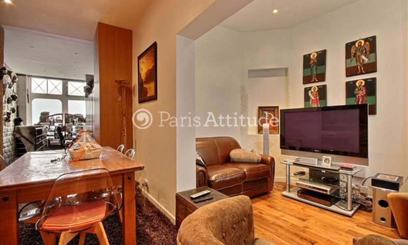 Rent Duplex 1 Bedroom 43m² rue des Tournelles, 75003 Paris