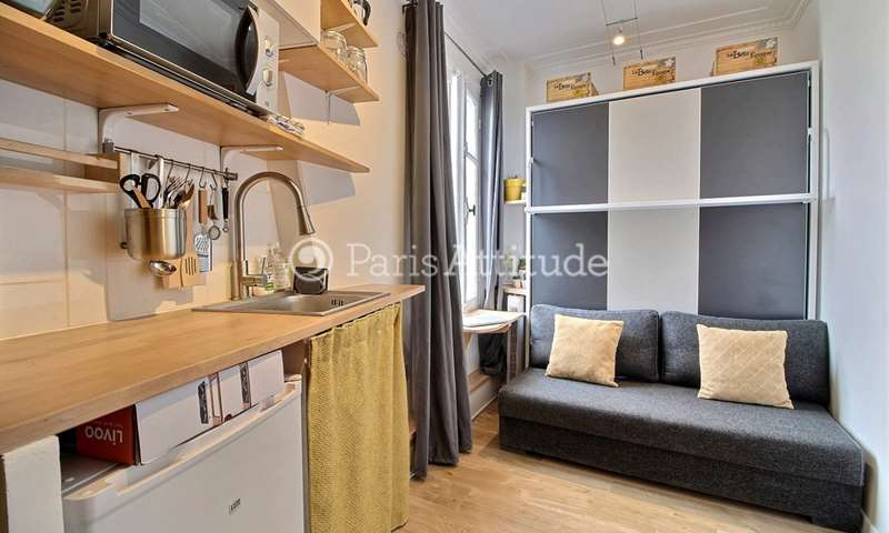 Rent Apartment Studio 14m² rue du Surmelin, 75020 Paris