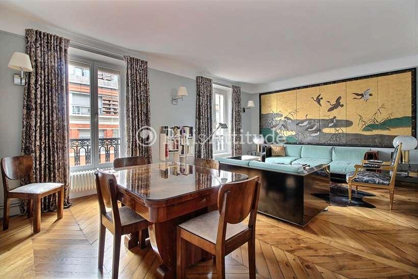 Rent furnished Apartment 2 Bedrooms 67m² boulevard Beaumarchais, 75011 Paris
