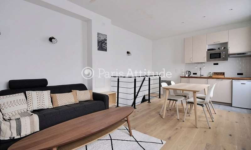 Rent Apartment 1 Bedroom 33m² rue Godefroy Cavaignac, 75011 Paris