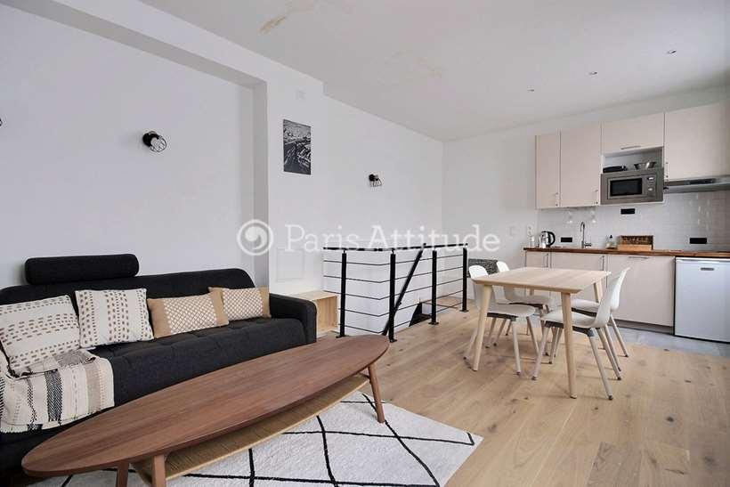 Aluguel Apartamento mobiliado 1 quarto 53m² rue Godefroy Cavaignac, 75011 Paris
