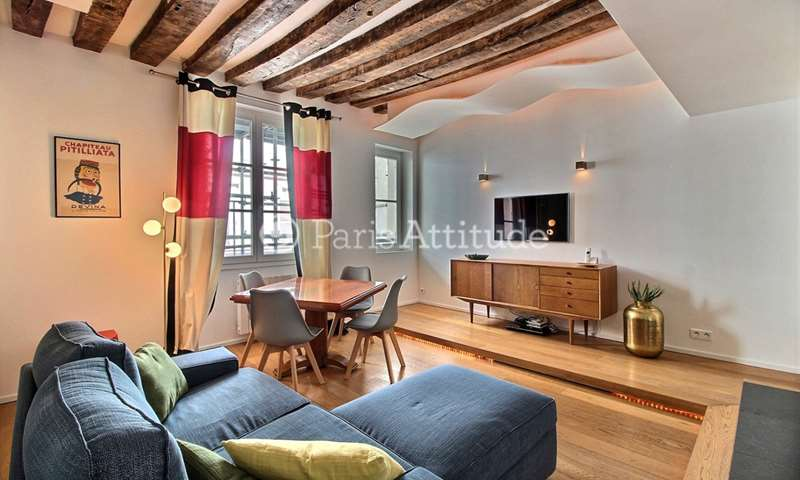 Rent Apartment 1 Bedroom 45m² rue de Beaune, 7 Paris