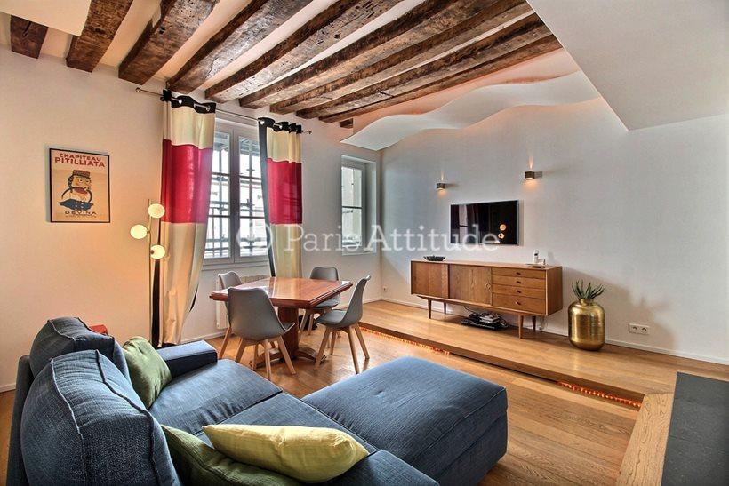 Rent furnished Apartment 1 Bedroom 45m² rue de Beaune, 75007 Paris