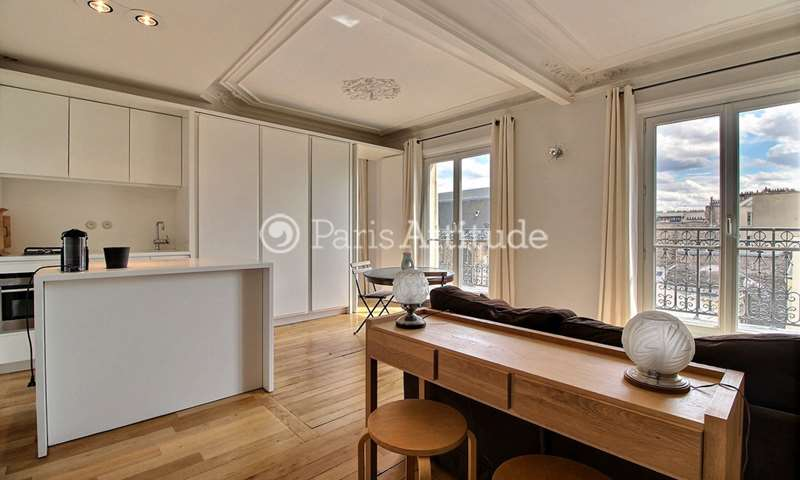Rent Apartment 1 Bedroom 48m² rue de Turbigo, 75003 Paris