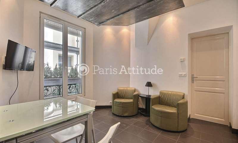 Rent Apartment 1 Bedroom 29m² rue Auguste Bartholdi, 15 Paris