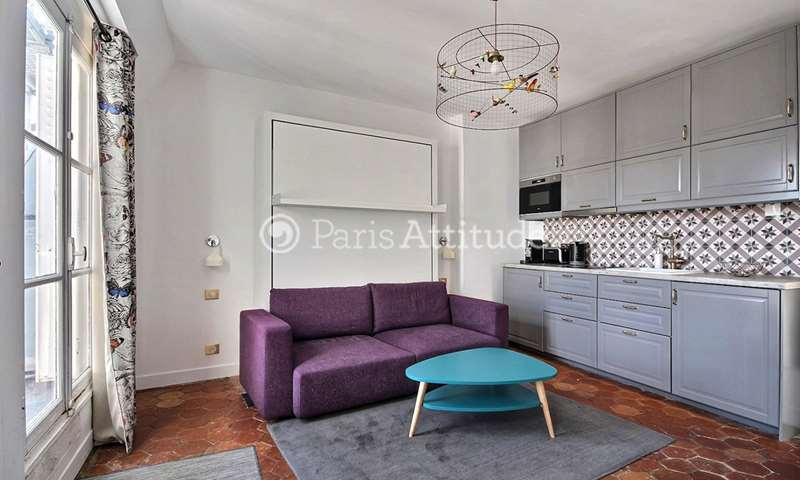 Location Appartement Studio 27m² rue d Arcole, 4 Paris