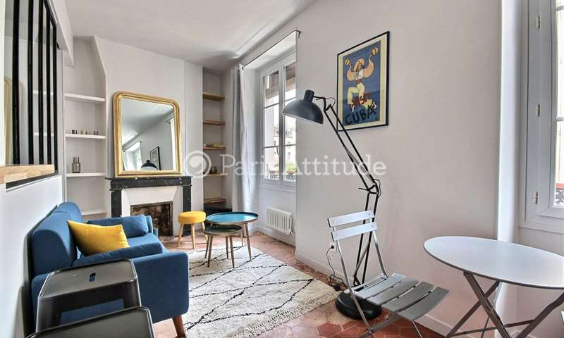 Rent Apartment Alcove Studio 25m² rue Vieille du Temple, 3 Paris