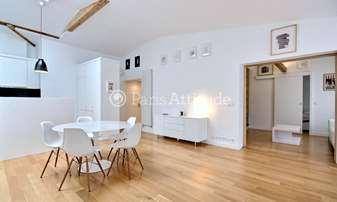 Rent Apartment 3 Bedrooms 105m² rue Sainte Croix de la Bretonnerie, 4 Paris