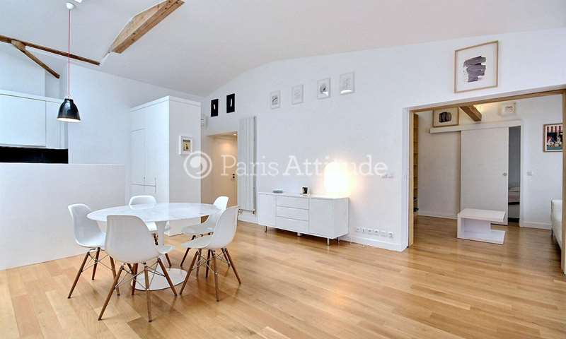 Rent Apartment 3 Bedrooms 105m² rue Sainte Croix de la Bretonnerie, 4 Paris