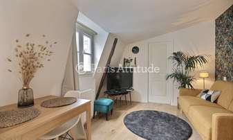 Location Appartement Studio 20m² rue du Temple, 4 Paris