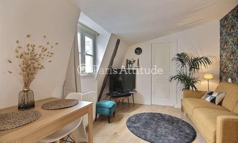 Rent Apartment Studio 20m² rue du Temple, 4 Paris