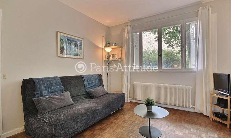 Location Appartement Studio 35m² rue Vauvenargues, 18 Paris