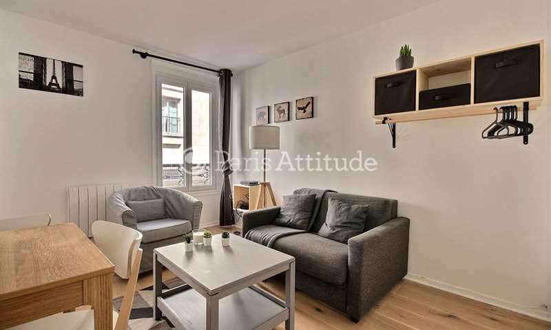 Location Appartement Studio 18m² rue Godefroy Cavaignac, 11 Paris