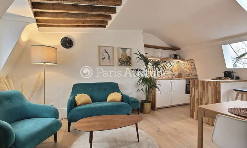Rent Apartment 1 Bedroom 25m² rue du Temple, 4 Paris