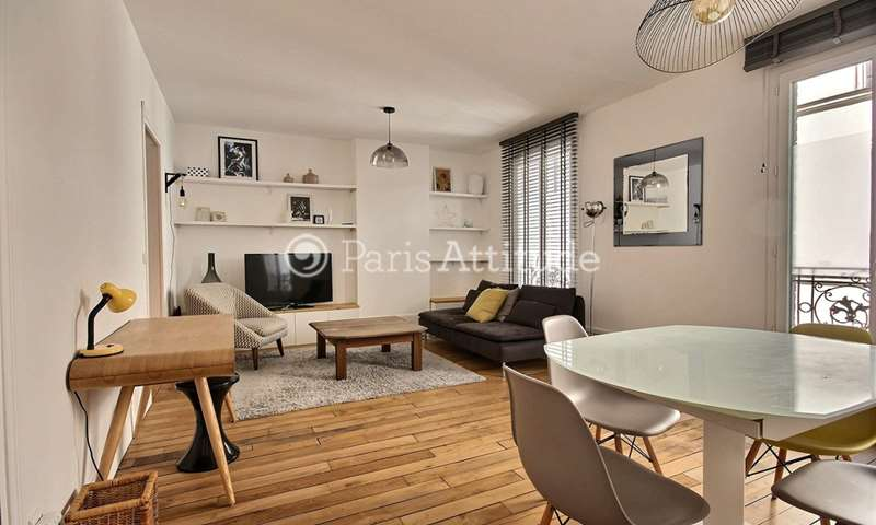 Rent Apartment 2 Bedrooms 70m² rue Popincourt, 11 Paris