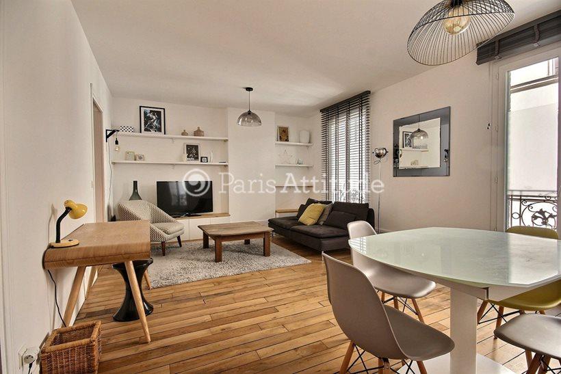 Aluguel Apartamento mobiliado 2 quartos 70m² rue Popincourt, 75011 Paris