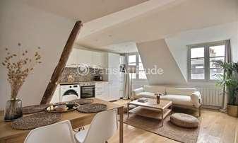 Rent Apartment 1 Bedroom 33m² rue du Temple, 4 Paris