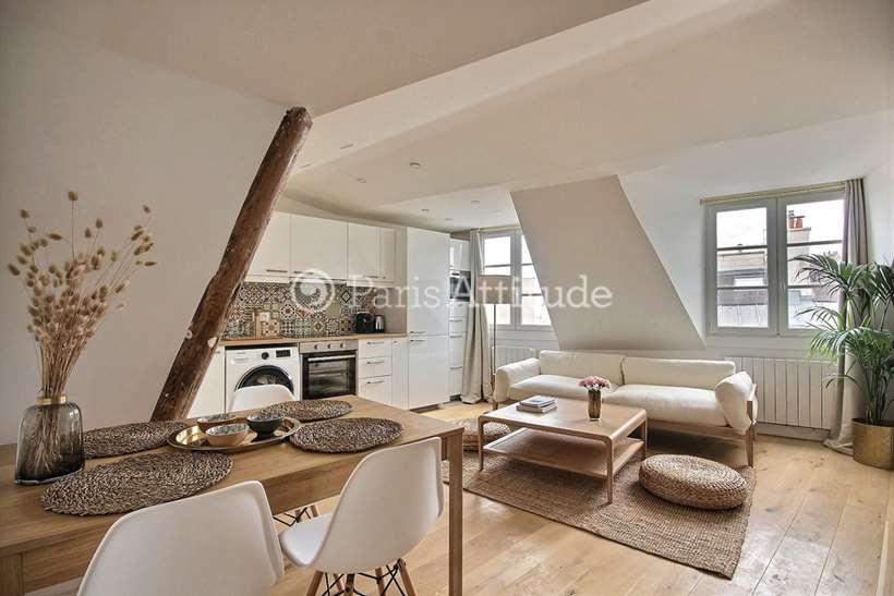 Rent furnished Apartment 1 Bedroom 33m² rue du Temple, 75004 Paris