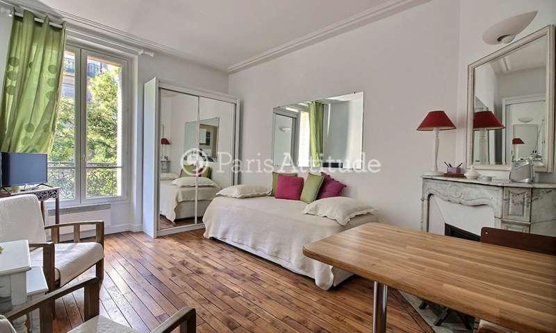 Location Appartement Studio 24m² rue Caulaincourt, 18 Paris