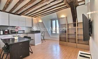 Rent Apartment Alcove Studio 28m² rue Jacob, 6 Paris