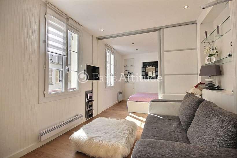 Rent furnished Apartment Alcove Studio 27m² rue Saint Dominique, 75007 Paris