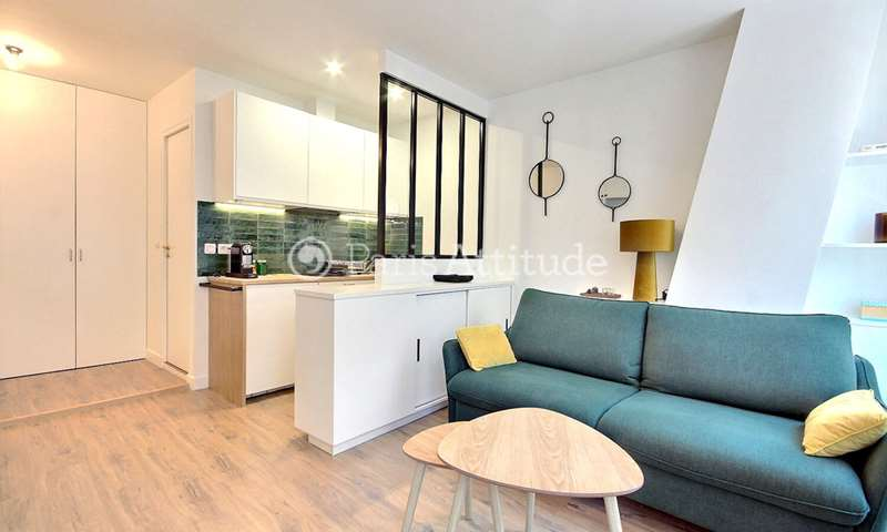Rent Apartment Studio 23m² rue de Meaux, 19 Paris