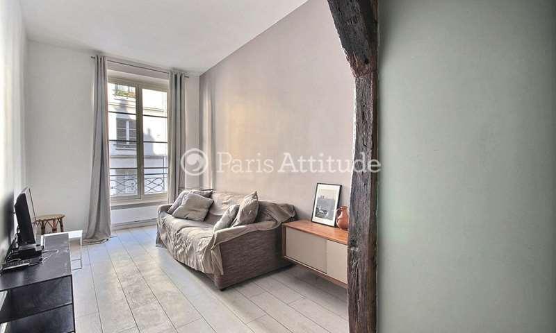Rent Apartment 1 Bedroom 35m² rue Saint Honore, 1 Paris