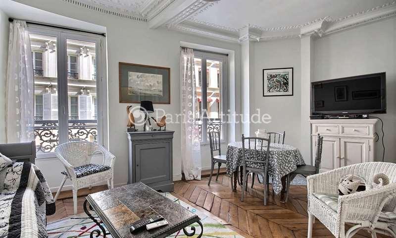 Rent Apartment 1 Bedroom 39m² rue de Douai, 9 Paris
