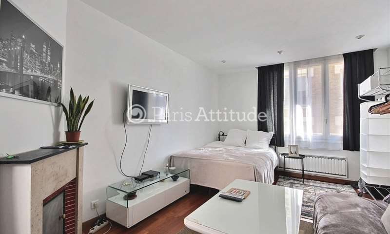 Rent Apartment Studio 23m² rue Orfila, 20 Paris