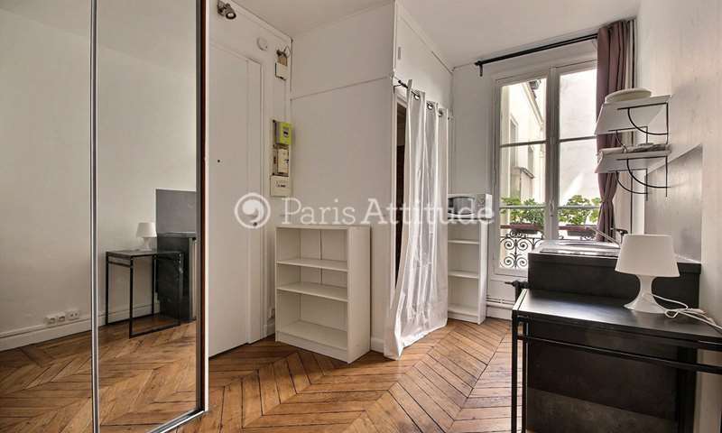 Rent Apartment Studio 14m² boulevard des Batignolles, 8 Paris