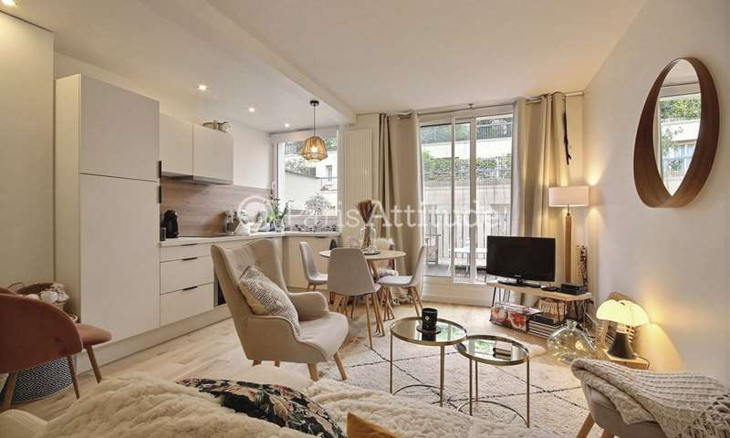 Rent Apartment 1 Bedroom 32m² Villa Laugier, 17 Paris