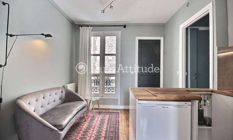 Rent Apartment 1 Bedroom 24m² rue Baudelique, 18 Paris