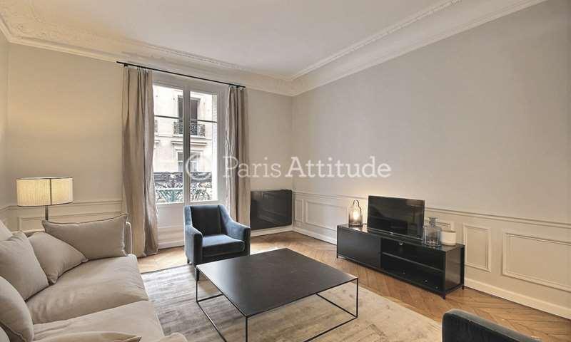 Location Appartement 2 Chambres 70m² rue des Belles Feuilles, 16 Paris