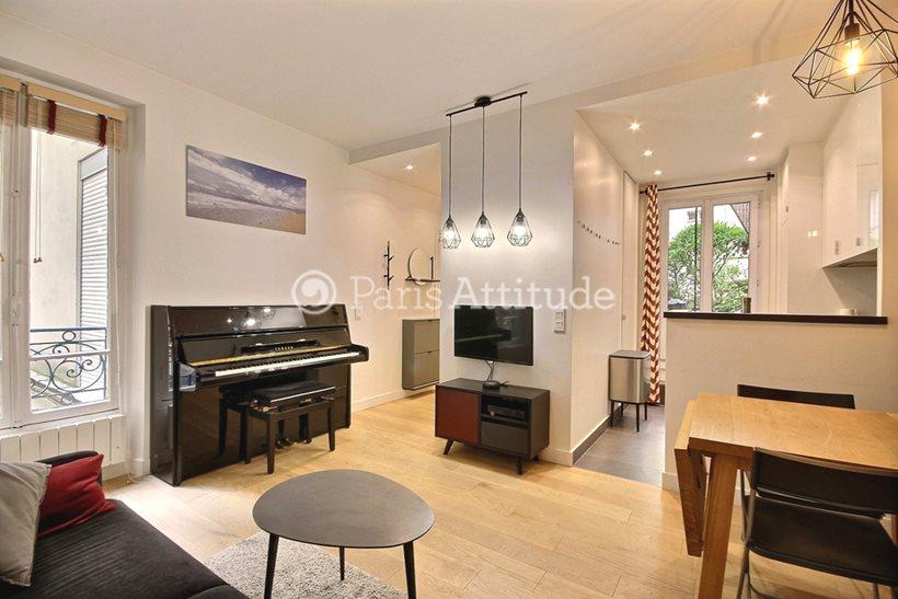 Louer Appartement meublé 1 Chambre 35m² boulevard de Clichy, 75018 Paris