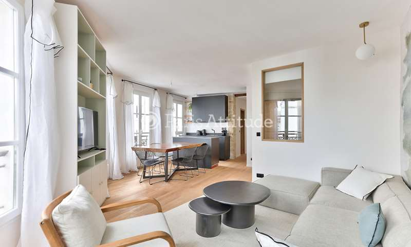 Location Appartement 2 Chambres 55m² rue Debelleyme, 3 Paris