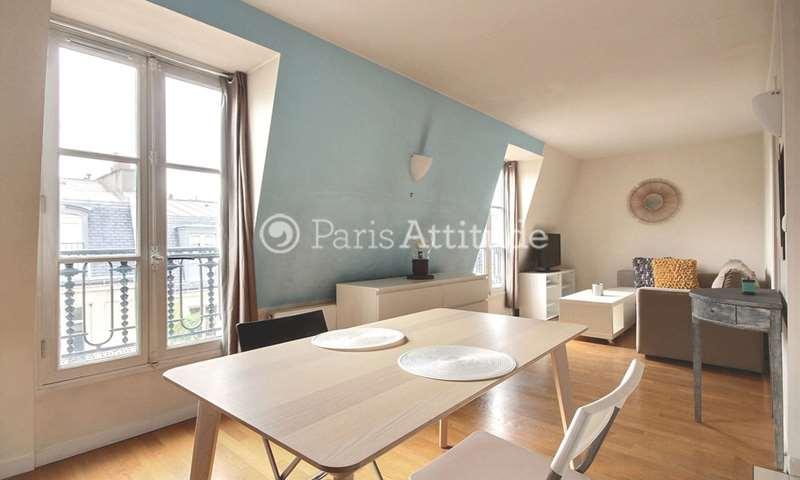 Rent Apartment 1 Bedroom 40m² rue Francisque Sarcey, 16 Paris