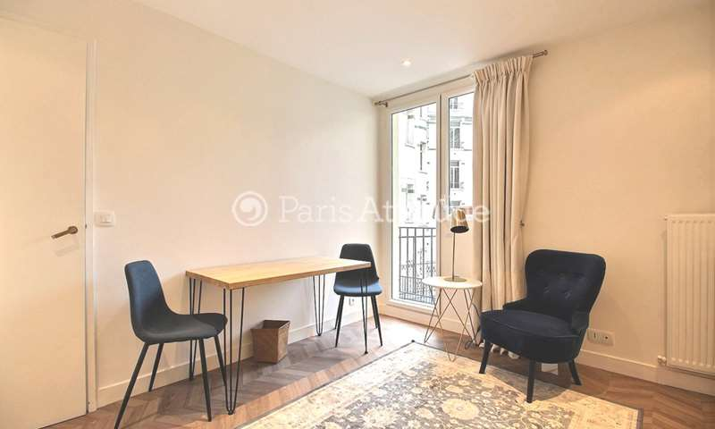 Rent Apartment 1 Bedroom 25m² avenue Victor Hugo, 16 Paris