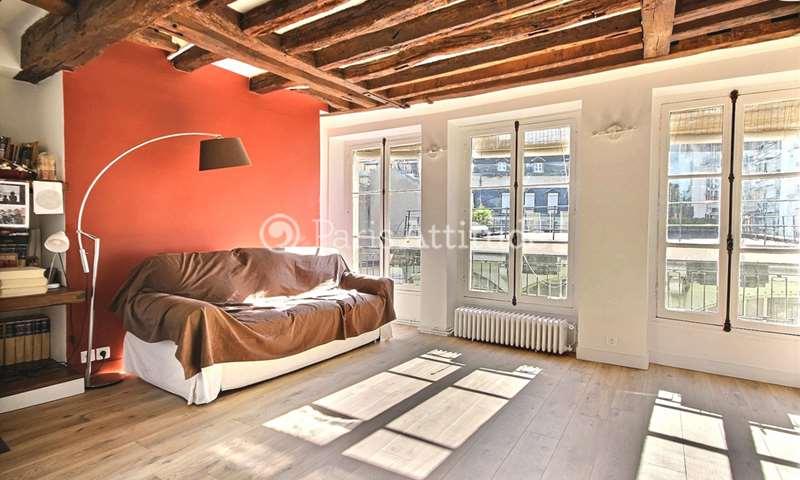 Rent Apartment 1 Bedroom 65m² rue Chanoinesse, 4 Paris