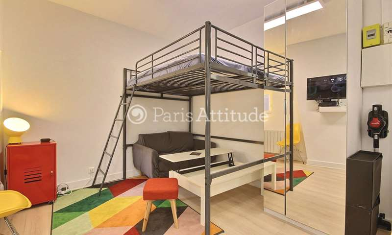 Rent Apartment Studio 15m² boulevard de la Villette, 19 Paris