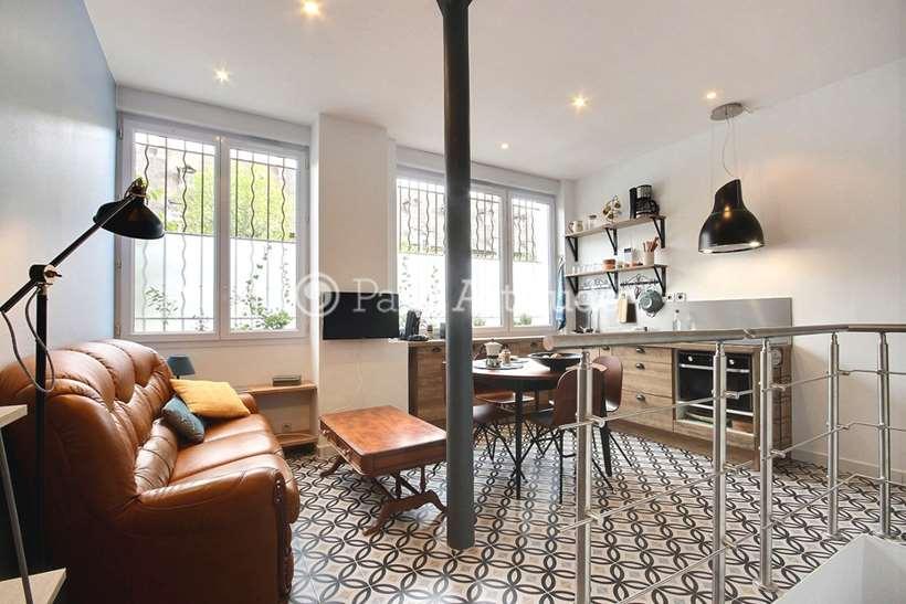 Louer Appartement meublé 1 Chambre 29m² rue Bichat, 75010 Paris