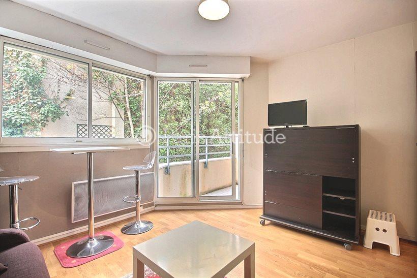 Rent furnished Apartment Studio 21m² rue de Bagnolet, 75020 Paris