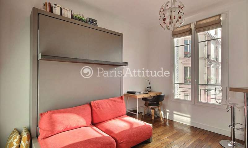 Rent Apartment Studio 19m² rue du Château, 14 Paris