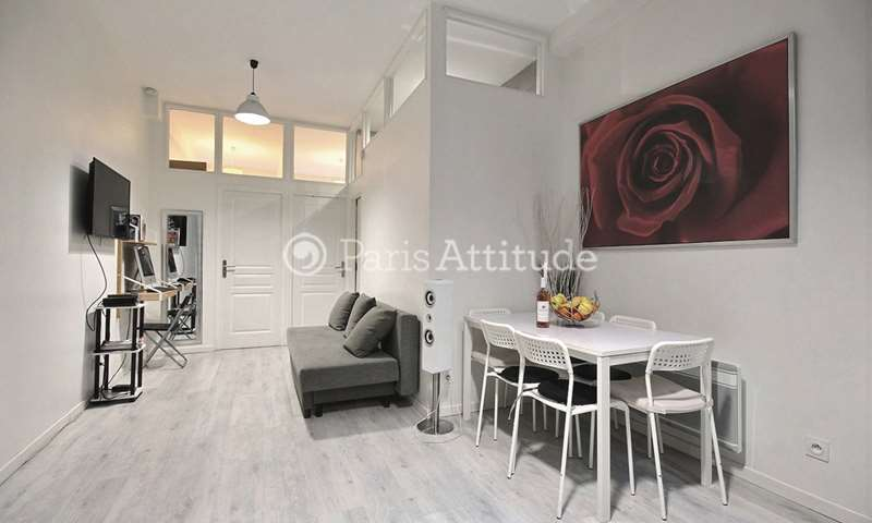 Rent Apartment 2 Bedrooms 40m² rue du Temple, 3 Paris