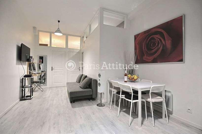 Louer Appartement meublé 2 Chambres 40m² rue du Temple, 75003 Paris