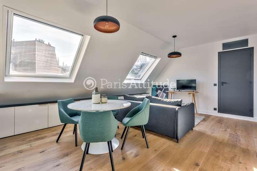 Rent furnished Apartment 1 Bedroom 42m² rue Decamps, 75116 Paris