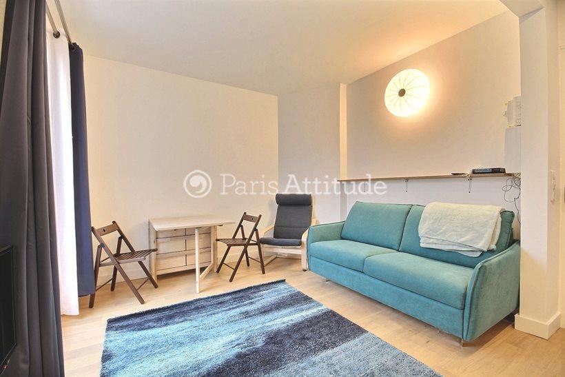 Rent furnished Apartment 1 Bedroom 29m² rue du Cambodge, 75020 Paris