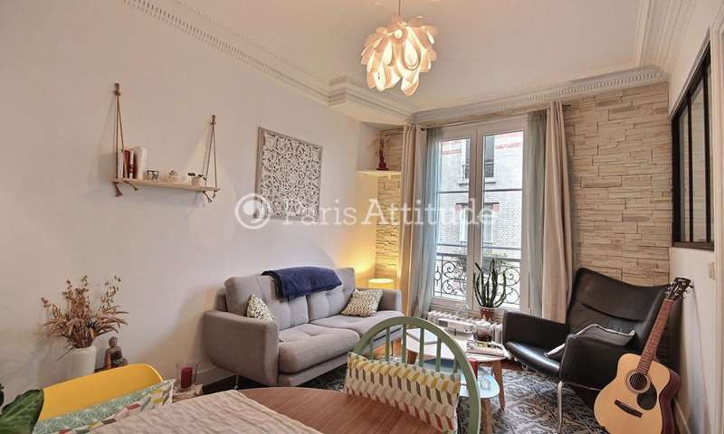 Rent Apartment 1 Bedroom 39m² rue Jacques Kellner, 17 Paris