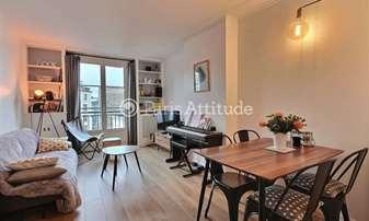 Rent Apartment 2 Bedrooms 53m² rue Jules Ferry, 92100 Boulogne Billancourt