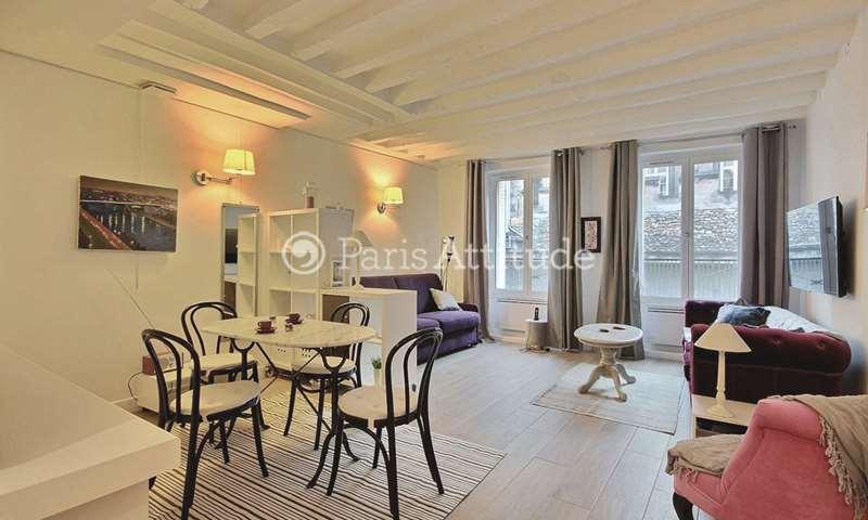 Rent Apartment Studio 40m² rue du Vertbois, 3 Paris
