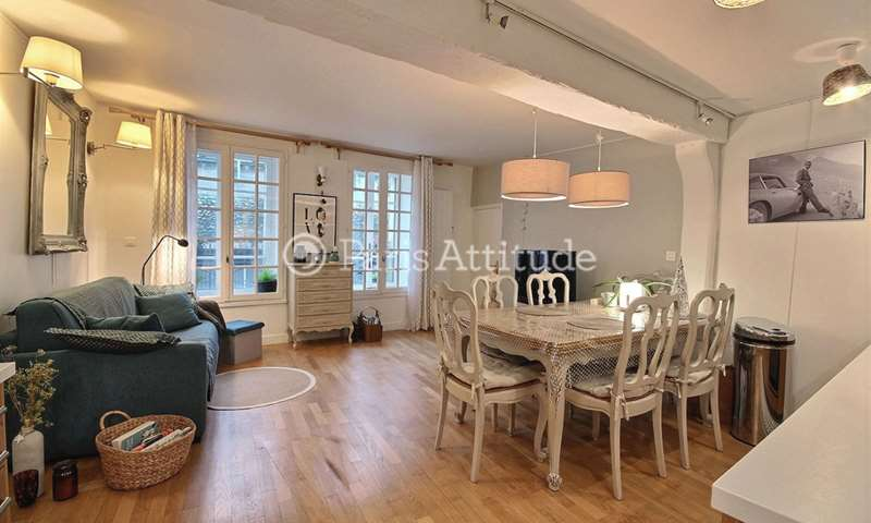 Rent Apartment 1 Bedroom 66m² rue du Vertbois, 3 Paris